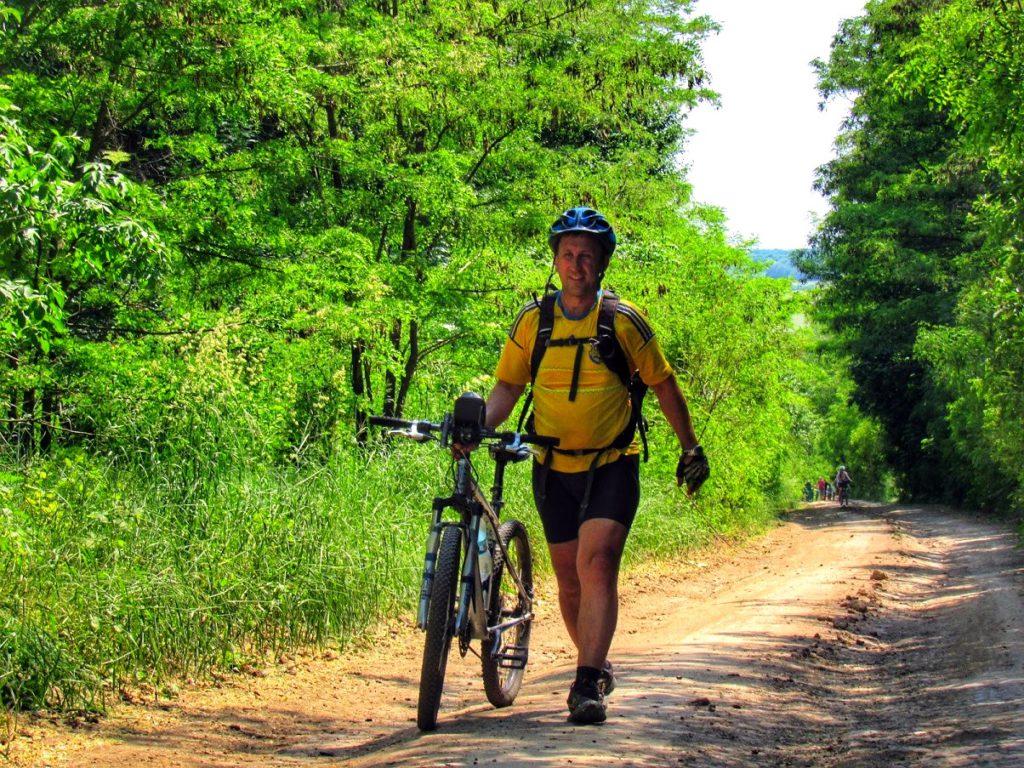 перший велопробіг в Котельві