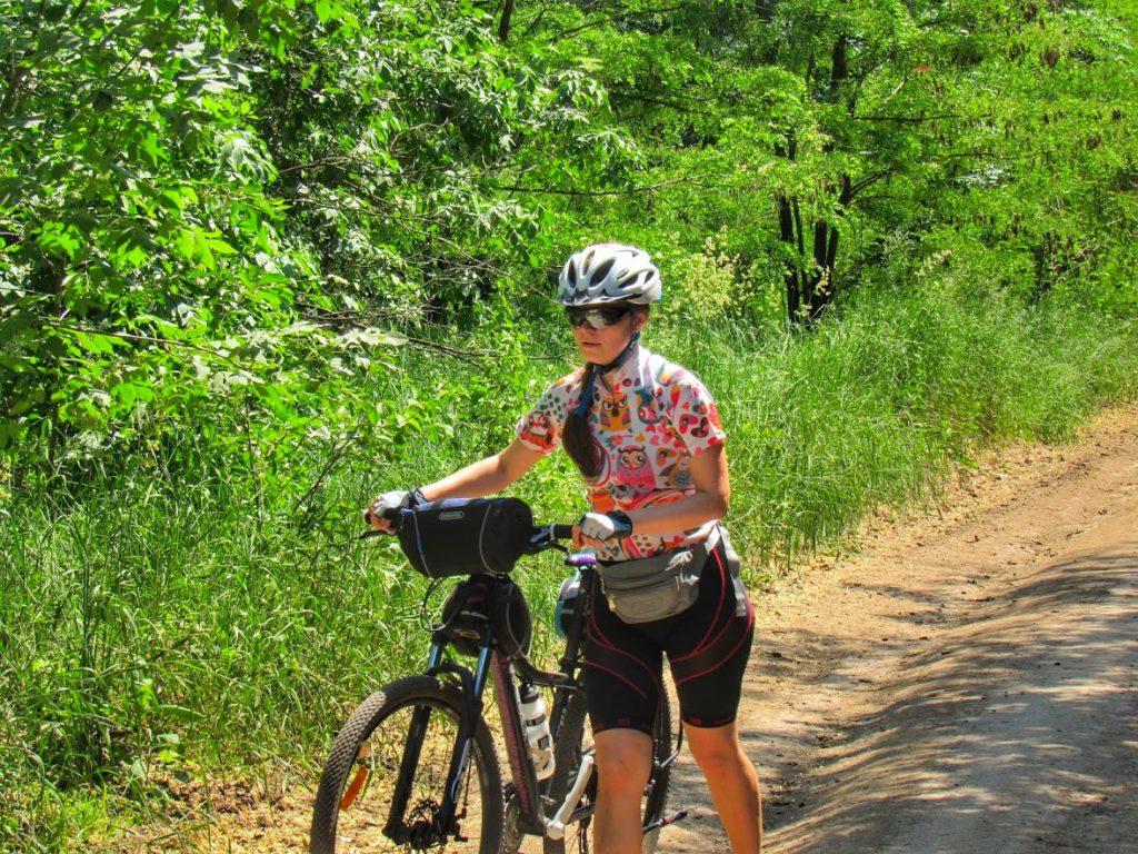 Перший пізнавальний велопробіг Більським городищем