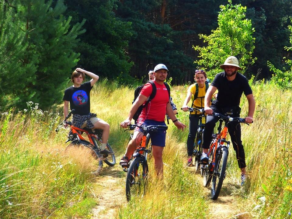 велопробіг Більським городищем