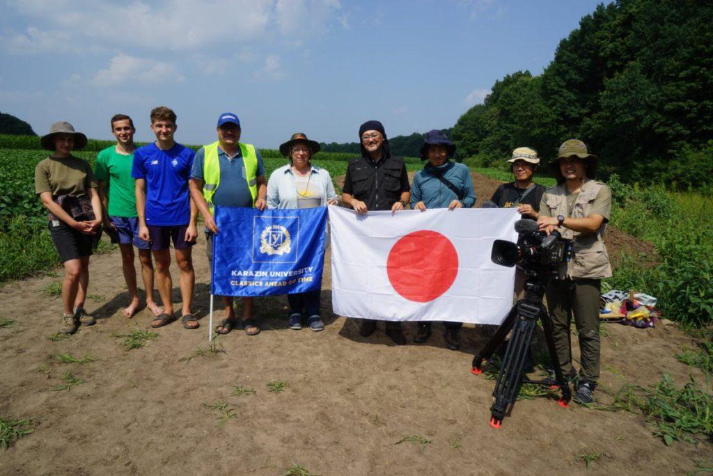 Більське городище відвідав японський науковець