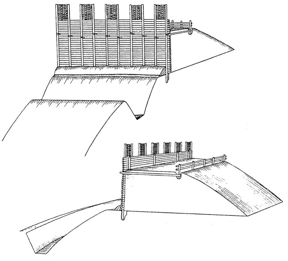 розкопки оборонних споруд Більського городища