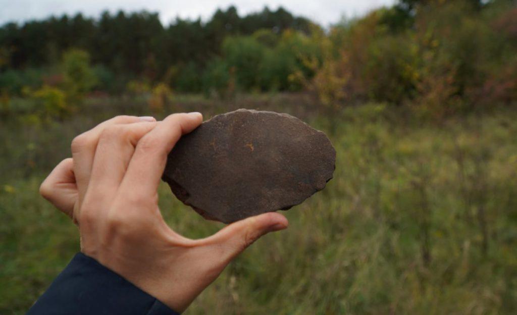 Археологічні дослідження на поселенні Котельва ІІ